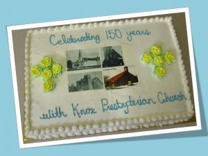 Ann Cake 150 yrs