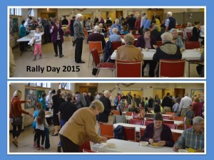 Rally Day 2015 Lunch