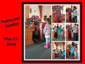 Pentecost - Children's Time