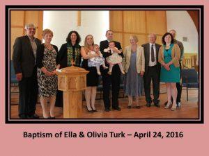 Baptism of Ella & Olivia Turk