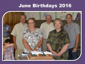 June Birthdays 2016