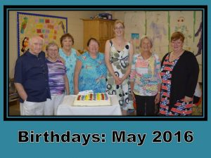 May Birthdays 2016
