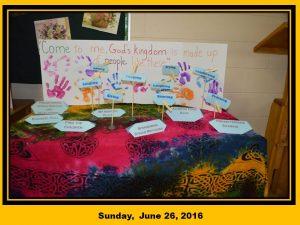 Sunday, June 26, 2016